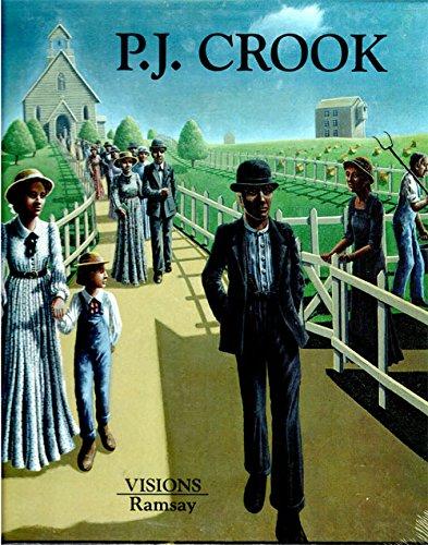 9782840410072: P. J. Crook Peintures - Paintings Visions Collection dirigee par Frederic Daussy