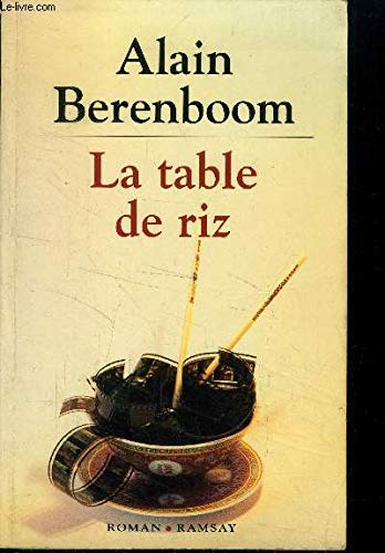 9782840410287: La table de riz
