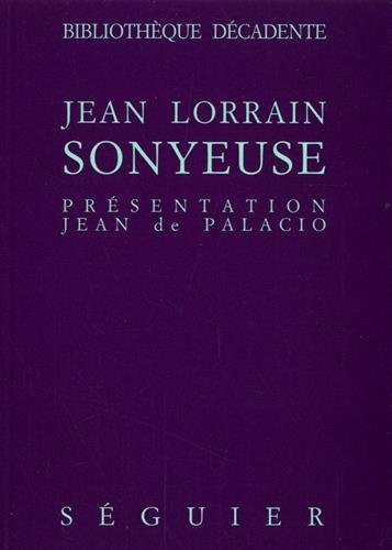 9782840490012: Sonyeuse (French Edition)