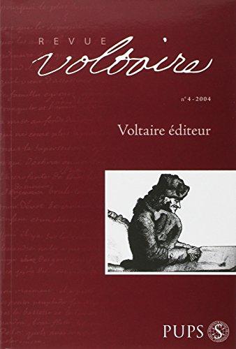 REVUE VOLTAIRE N.4 ; VOLTAIRE EDITEUR: REVUE VOLTAIRE