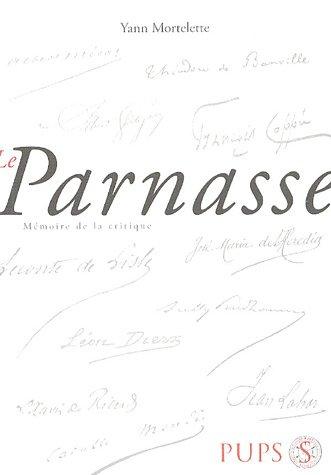 Le Parnasse: Mortelette Yann