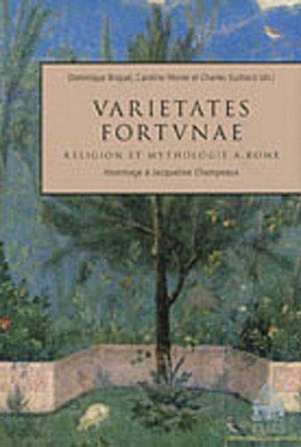 9782840506836: Varietates fortunae (French Edition)
