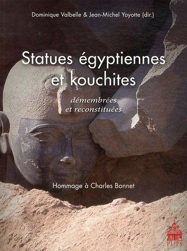 Statues égyptiennes et kouchites démembrées et reconstitu&...
