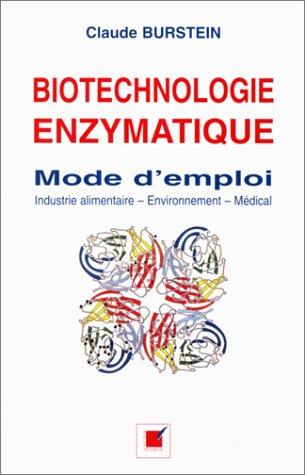 9782840540625: Biotechnologie enzymatique