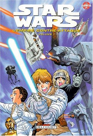 9782840554332: Star Wars en manga : L'Empire contre-attaque, tome 1