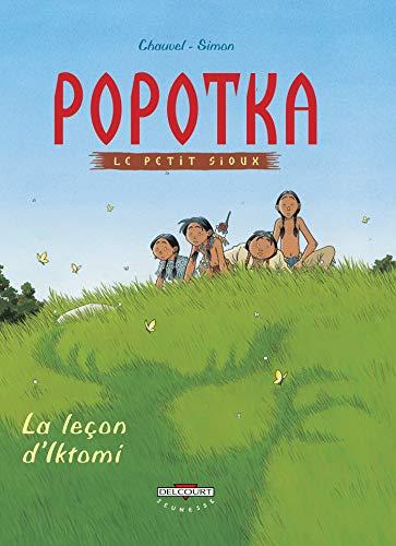 9782840558415: Popotka le petit sioux, tome 1 : La Leçon d'Iktomi