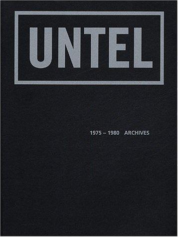 9782840561606: UNTEL 1975-1980 : Archives