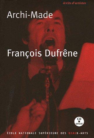 ARCHI-MADE (+CD): DUFRENE FRANCOIS