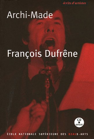 Archi-Made (1CD audio): François Dufrêne