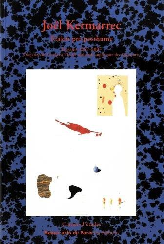 9782840563334: Etalon pré-posthume : Dessins 1957-2007