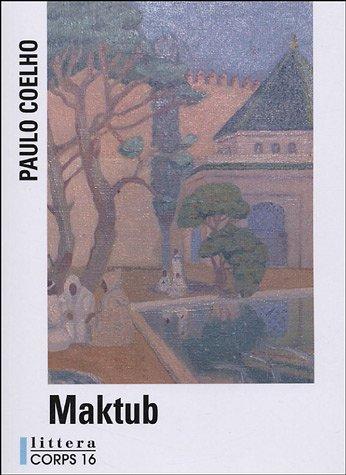 9782840575580: Maktub (Littera)