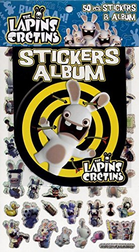 9782840645368: The Lapins Crétins : 50 stickers + album