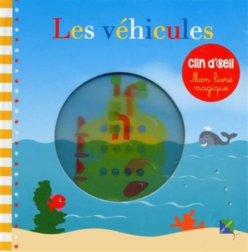 Les véhicules - Mon livre magique: Chonchon