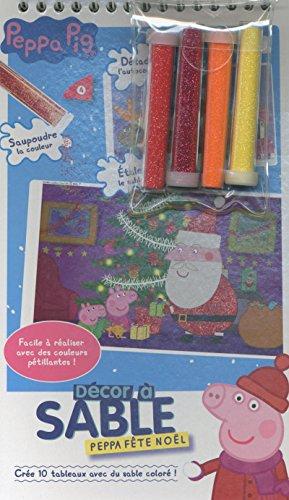 9782840646778: Peppa fête Noël - Décor à sable