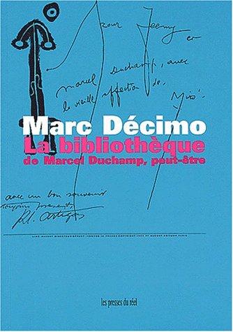 9782840660736: La bibliotheque de marcel duchamp, peut-être