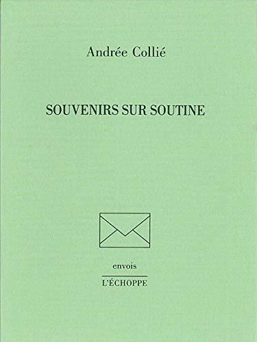 9782840681328: Souvenirs Sur Soutine