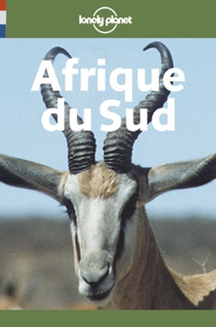 Lonely Planet Afrique Du Sud