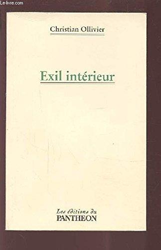 9782840944584: Exil int�rieur