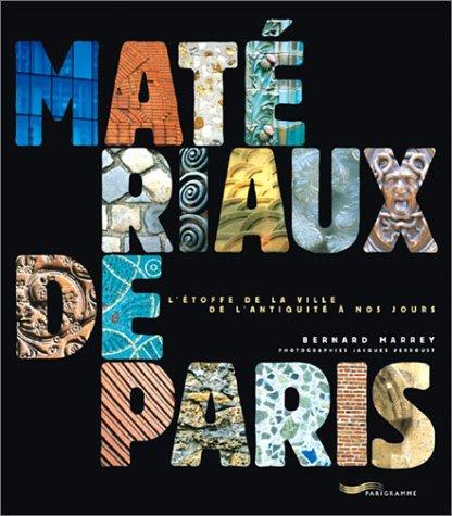 9782840962052: Matériaux de Paris