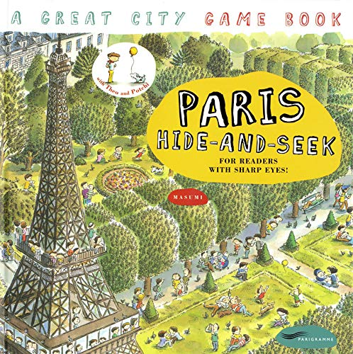 9782840965701: Paris hide-and-seek : A great city Game Book