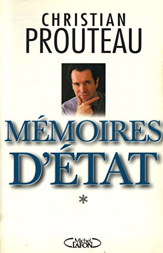 9782840983606: Memoires d'Etat (French Edition)