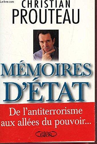 Memoires d'Etat (French Edition): Christian Prouteau
