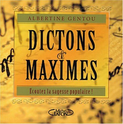 Dictons & maximes