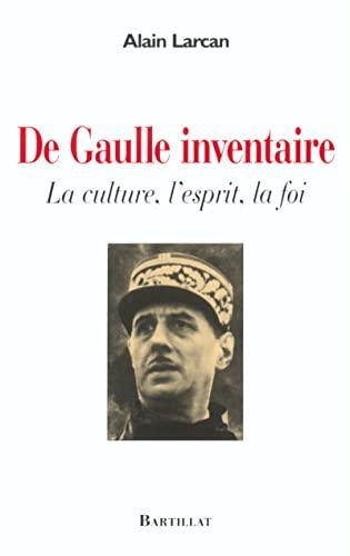 De Gaulle : Inventaire: Larcan, Alain