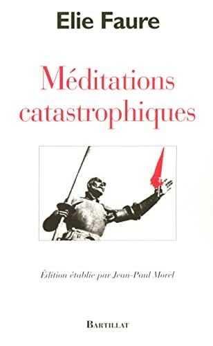 9782841003754: Méditations catastrophiques