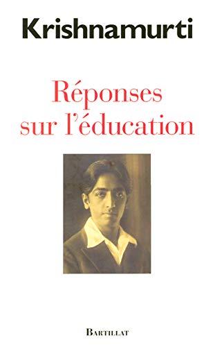 9782841003808: Réponses sur l'éducation