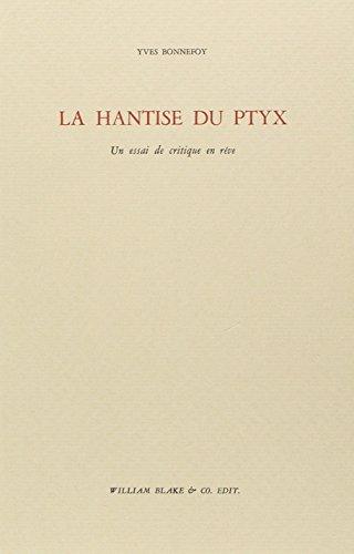 9782841031269: La hantise du Ptyx : Un essai de critique en rêve