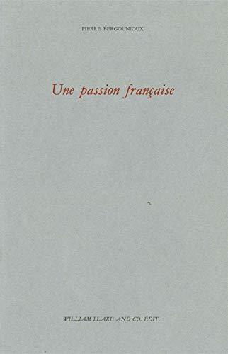 9782841032082: Une passion fran�aise
