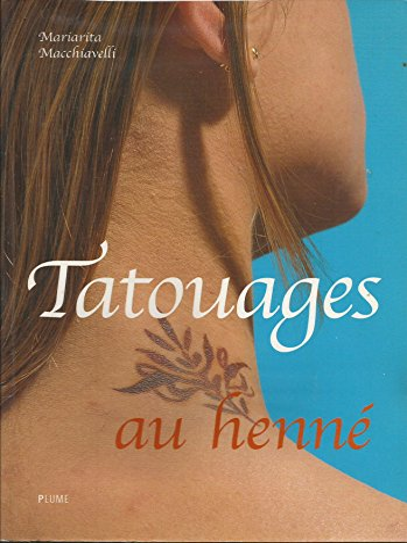 9782841101535: Tatouages au henné