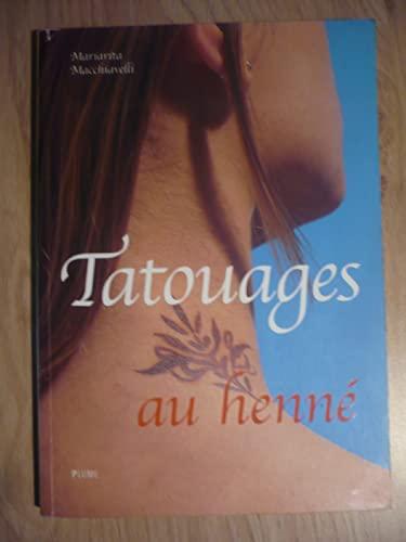 9782841101535: Tatouages au henn�