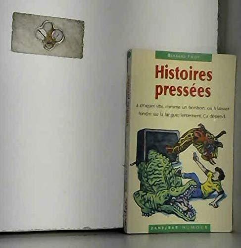 9782841130450: Histoires pressées (Zanzibar)