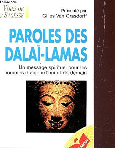 Paroles des Dalaï-lamas