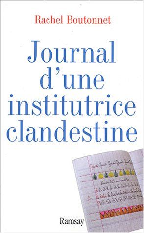 9782841146666: Journal d'une institutrice clandestine