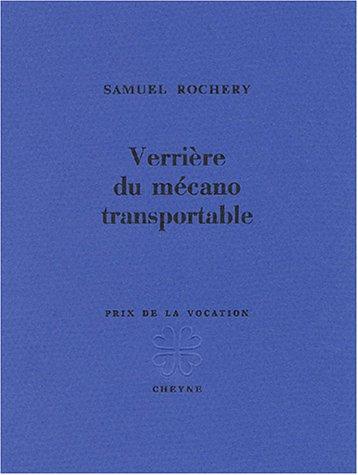 9782841160730: Verrière du mécano transportable