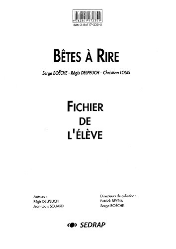 Bêtes à rire (French Edition): SEDRAP