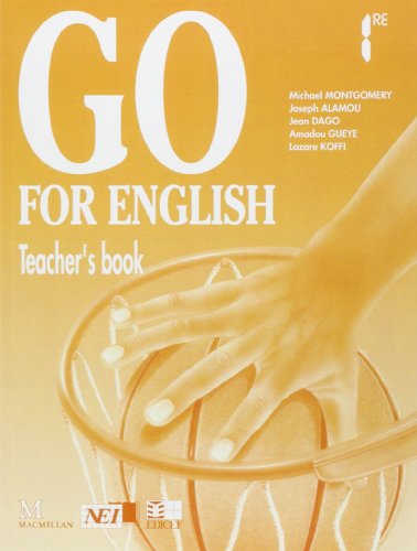 9782841290581: Go for English premi�re, livre du professeur