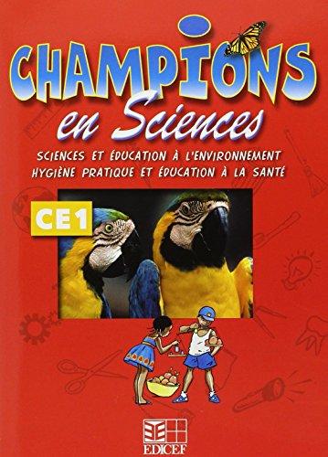 9782841297825: champions en sciences ce1 (cameroun/panaf)