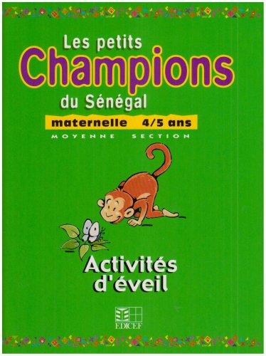 9782841298969: Activites d'Eveil, Maternelle 4/5 Ans, Moyenne Section