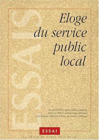 9782841302345: Éloge du service public local