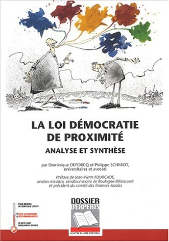 9782841304585: La loi Democratie de proximite (French Edition)