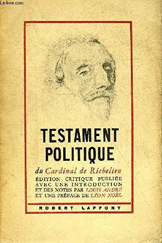 9782841331888: Testament politique