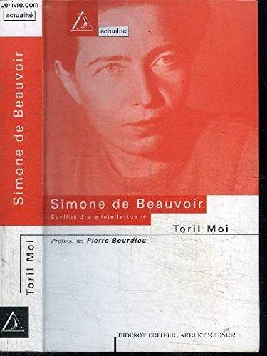 9782841340422: Simone de Beauvoir : Conflits d'une intellectuelle
