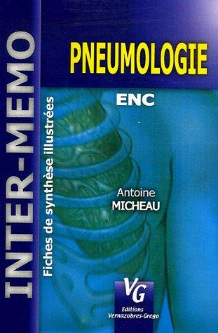 9782841365807: Pneumologie