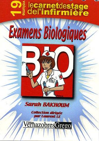 9782841366507: Examens Biologiques