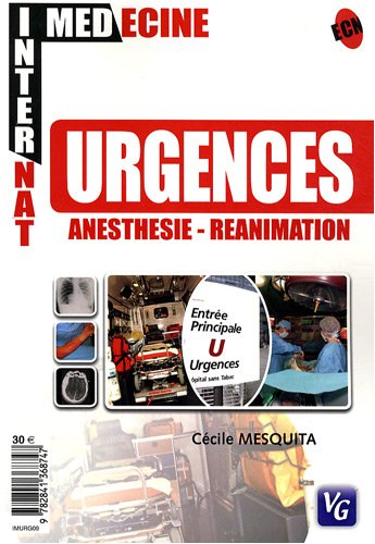 9782841368747: Urgences anesth�sie-r�animation