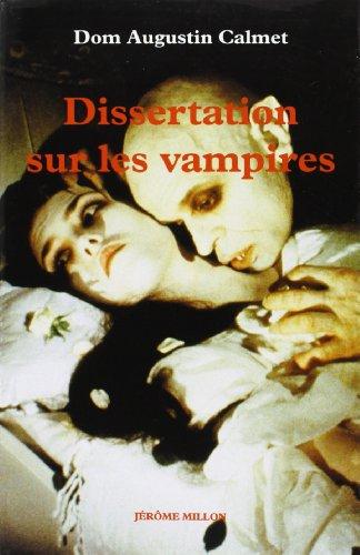 DISSERTATIONS SUR LES VAMPIRES (ATOPIA) (9782841370719) by CALMET, Dom Augustin